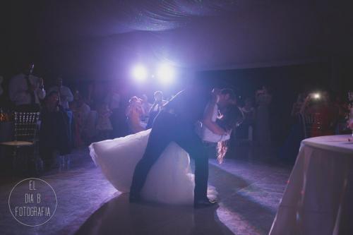 Foto del primer baile de los novios