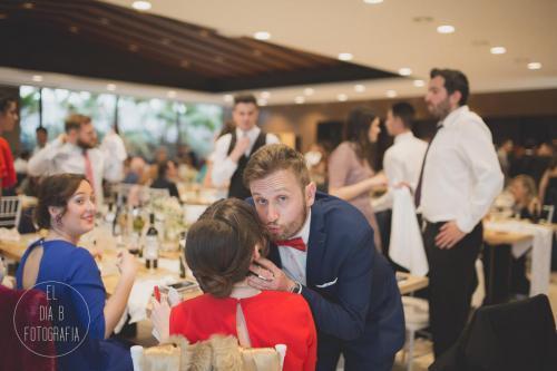 Foto de los invitados a la boda